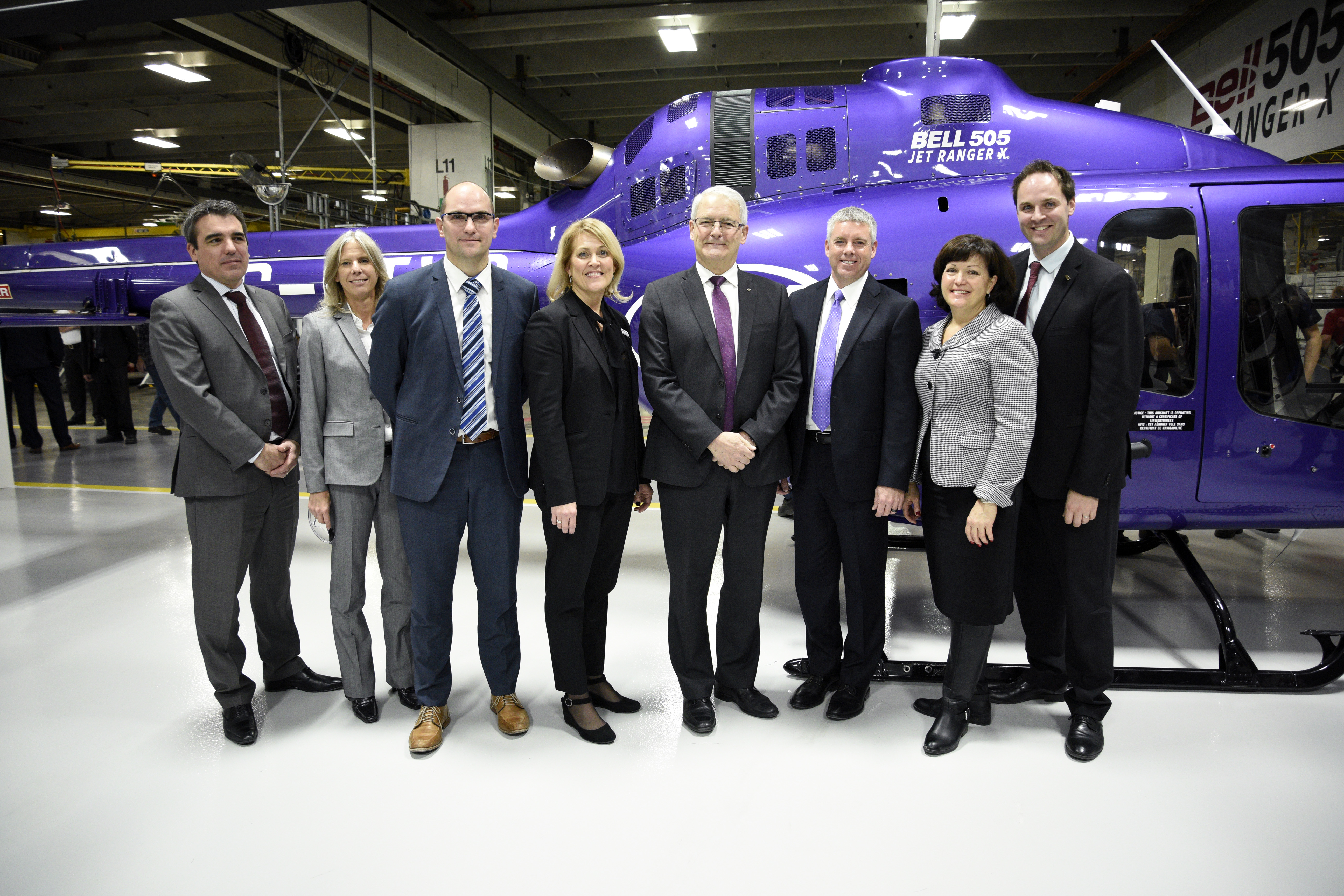Bell505 Certification Ceremony