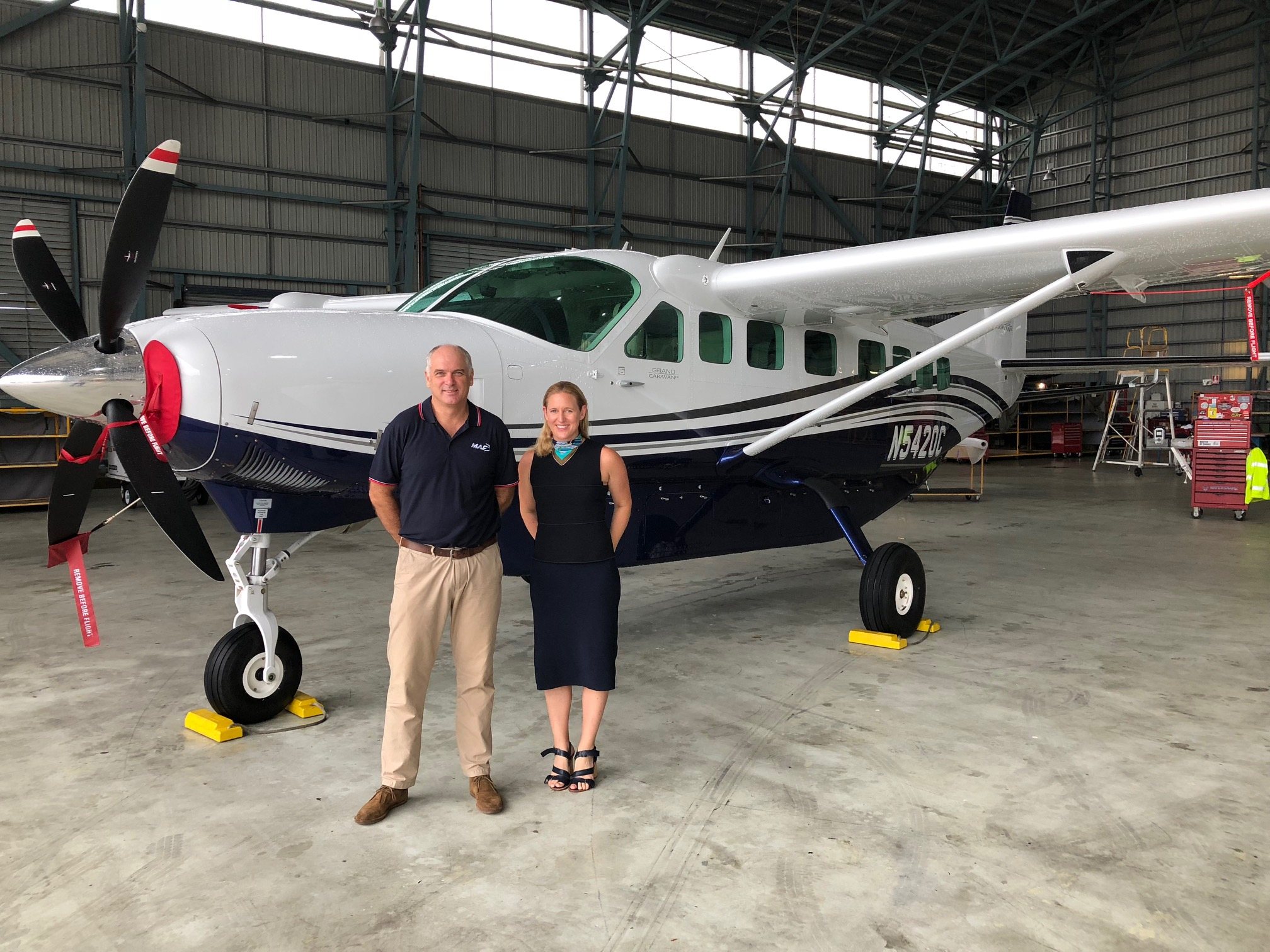 Textron Inc - Textron Aviation and Mission Aviation Fellowship