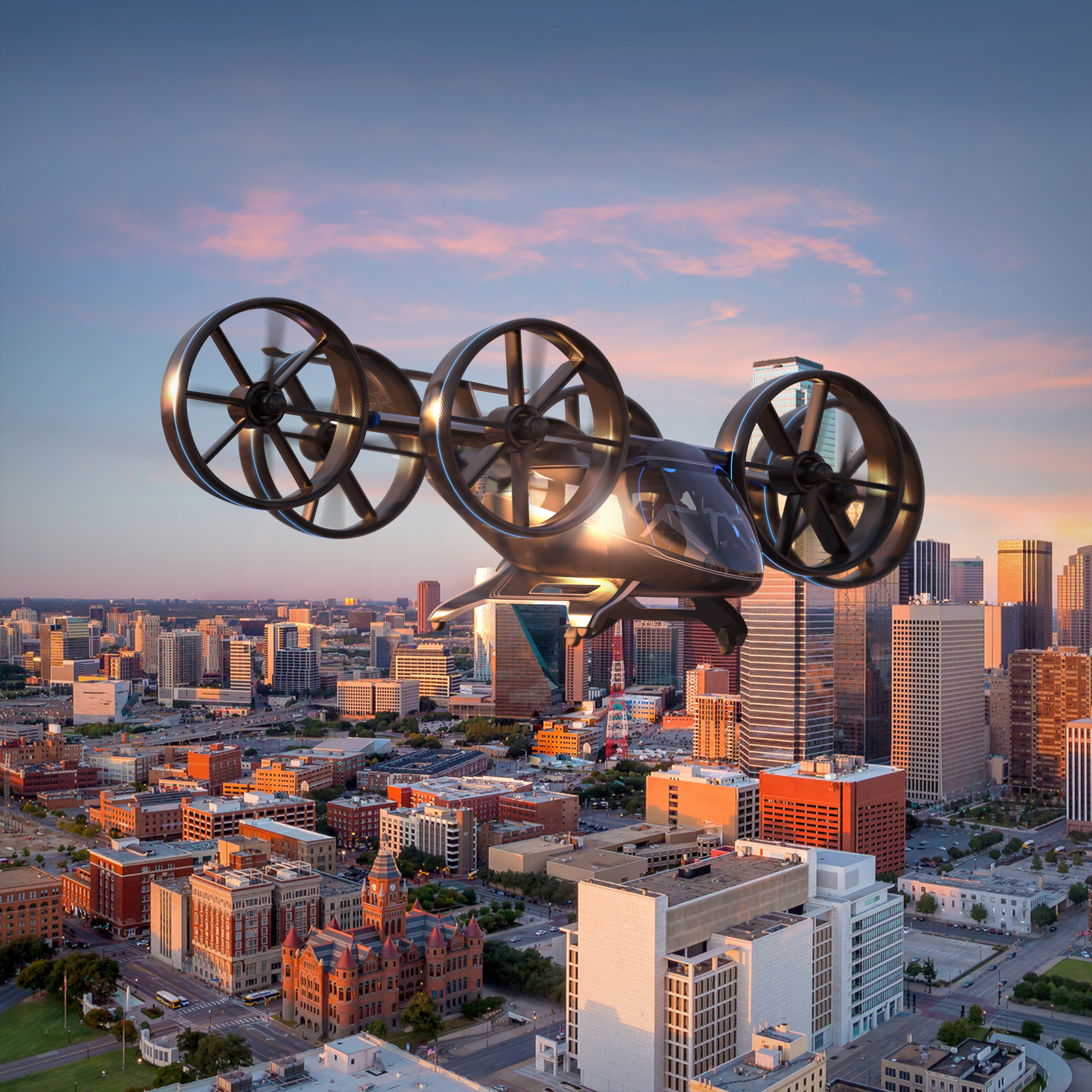 Textron Inc - Bell Unveils Full-Scale Design of Air Taxi at