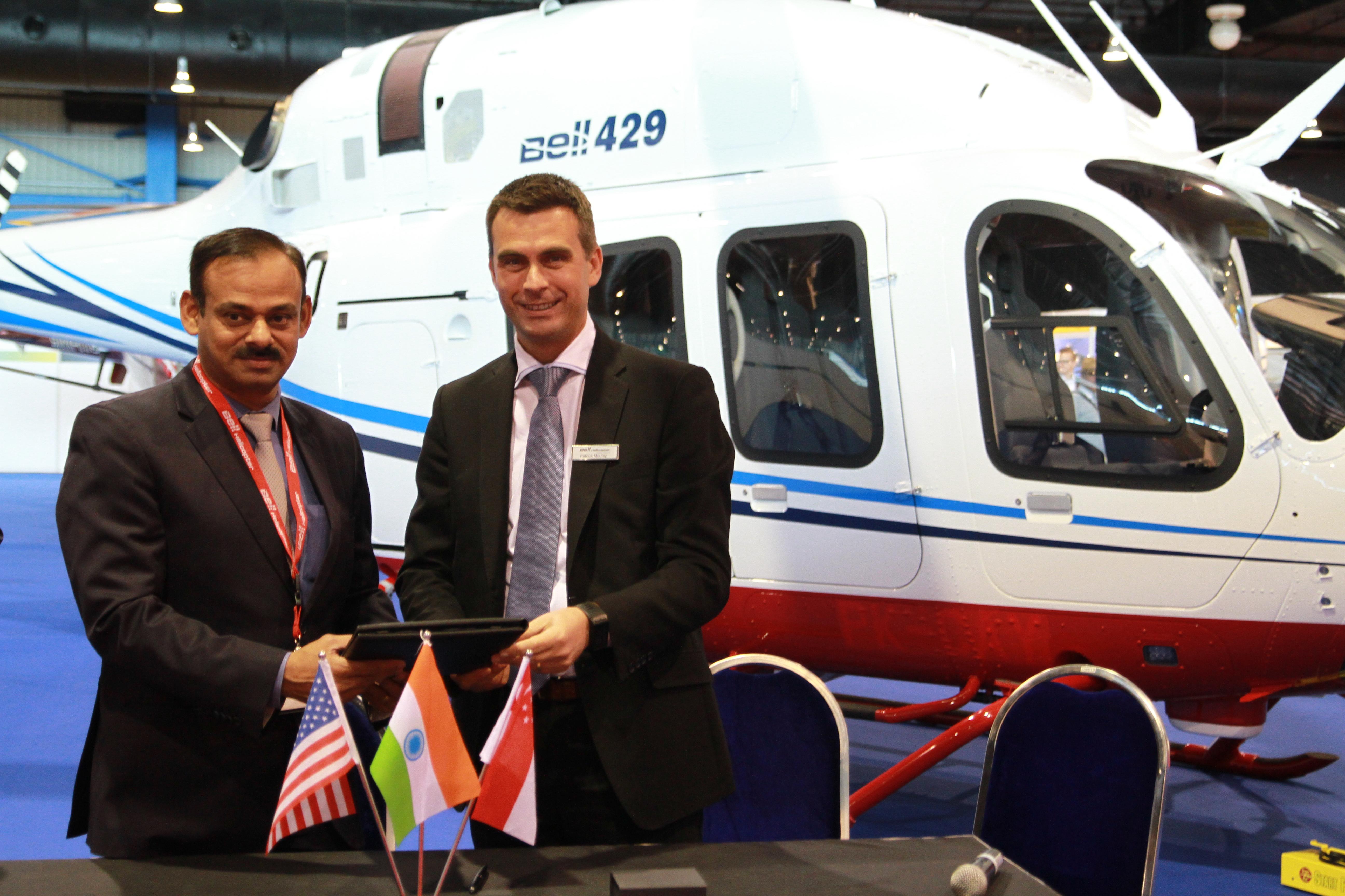 Textron Inc - Tata Steel Ltd  Adds Second Bell 429 to Fleet