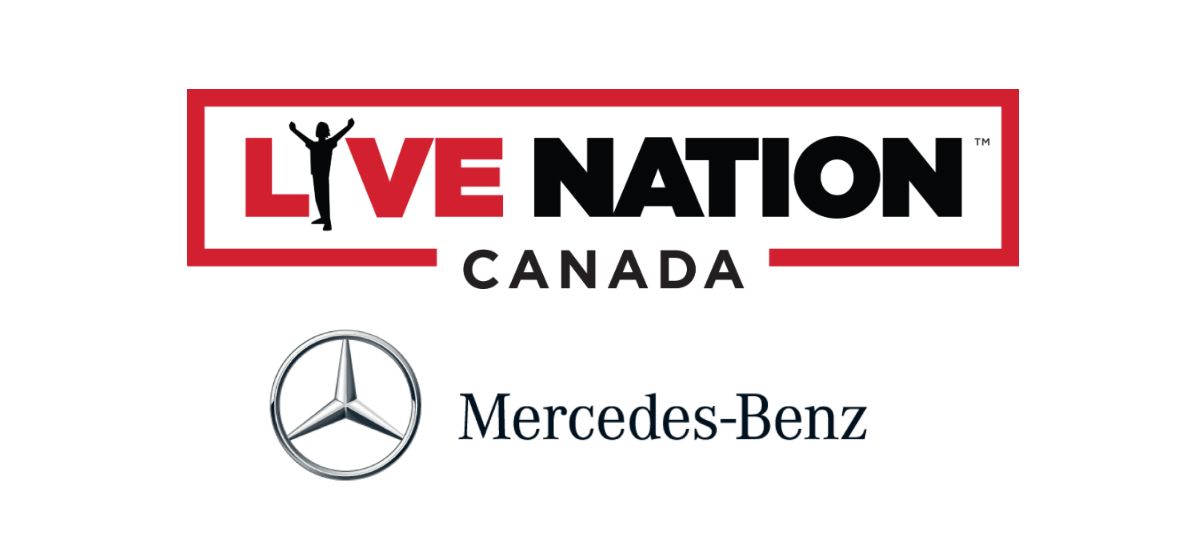 Live Nation Entertainment Mercedes Benz Canada Inks Deal With Live