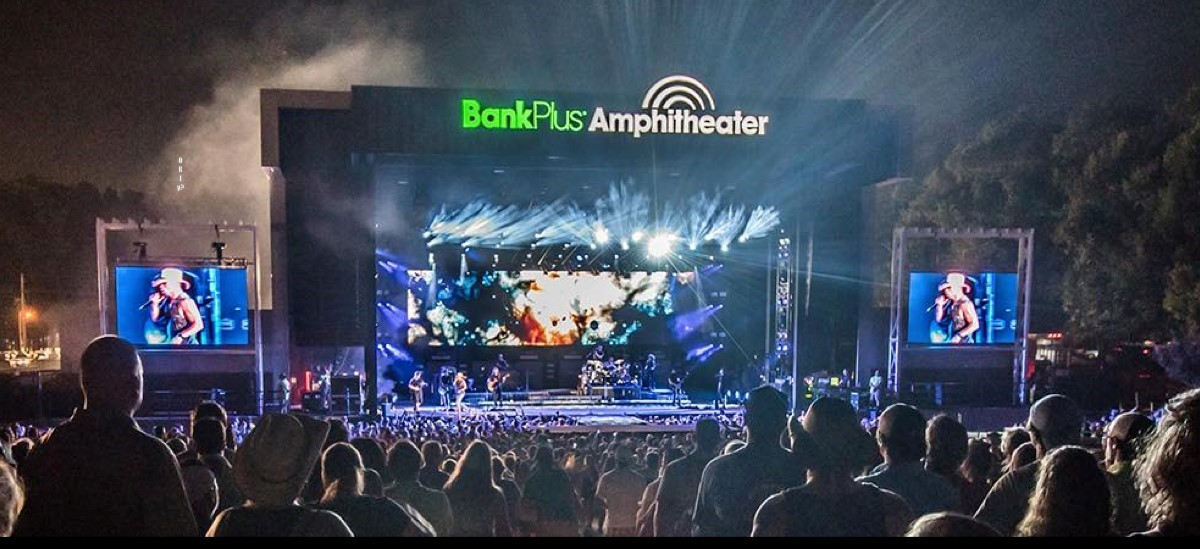Live Nation Signs Exclusive Booking Deal with BankPlus Amphitheater in Southaven, Mississippi