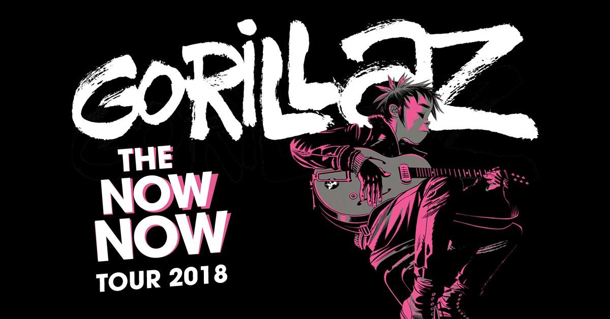Gorillaz  Tour Chicago
