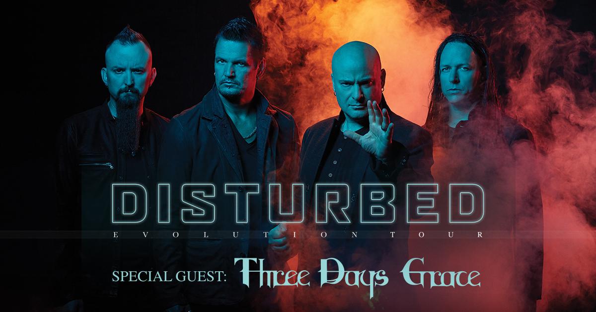 Disturbed Tour Dates