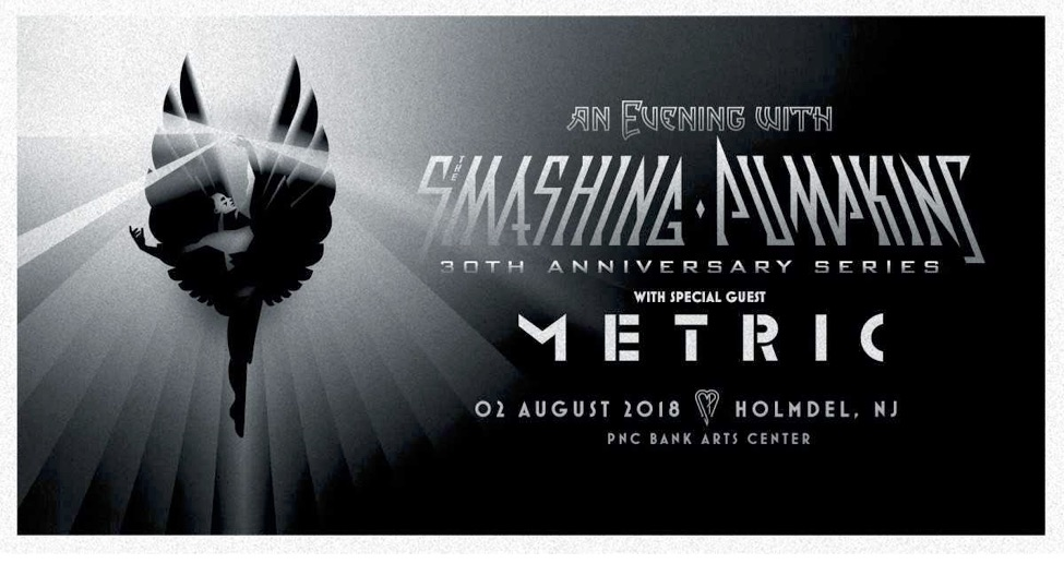 smashing pumpkins tour 2018