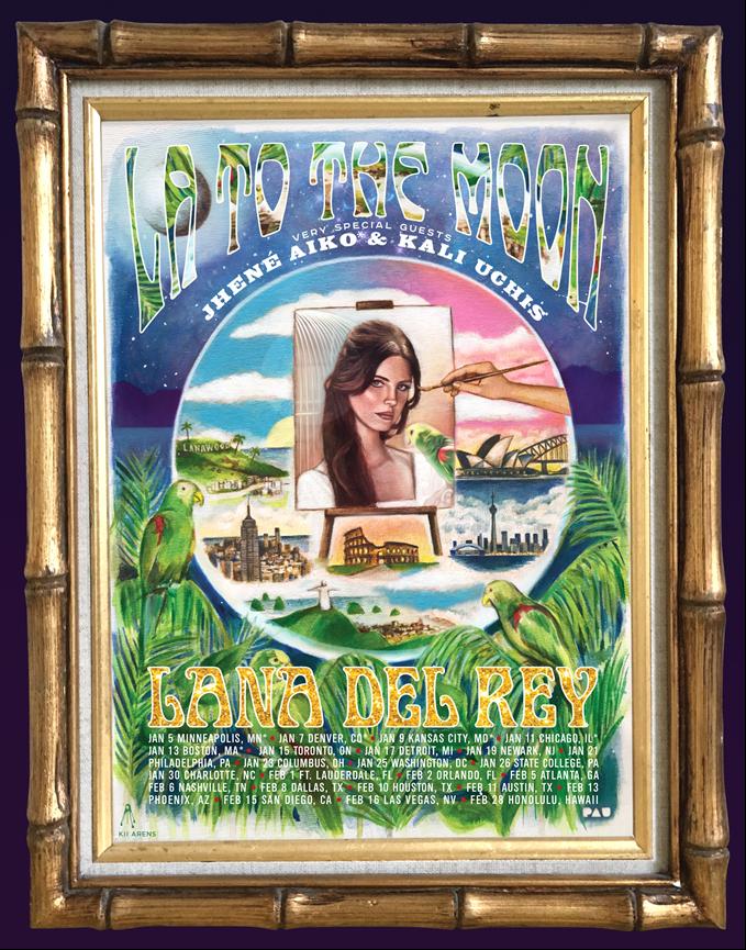 Live Nation Entertainment - Lana Del Rey Announces North ...