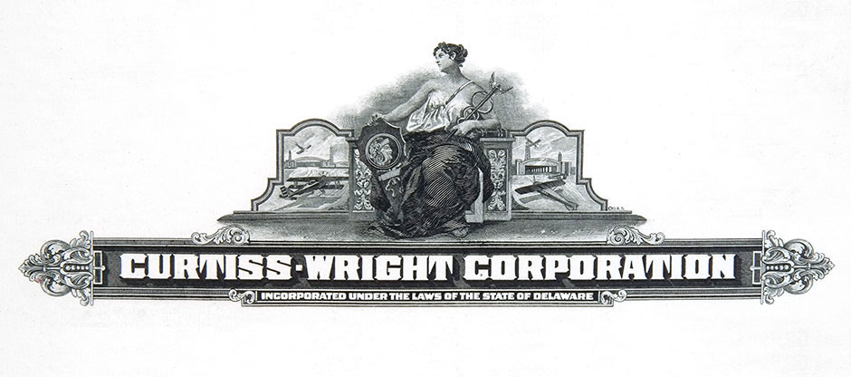Curtiss wright corporation company history for 20th century motor company