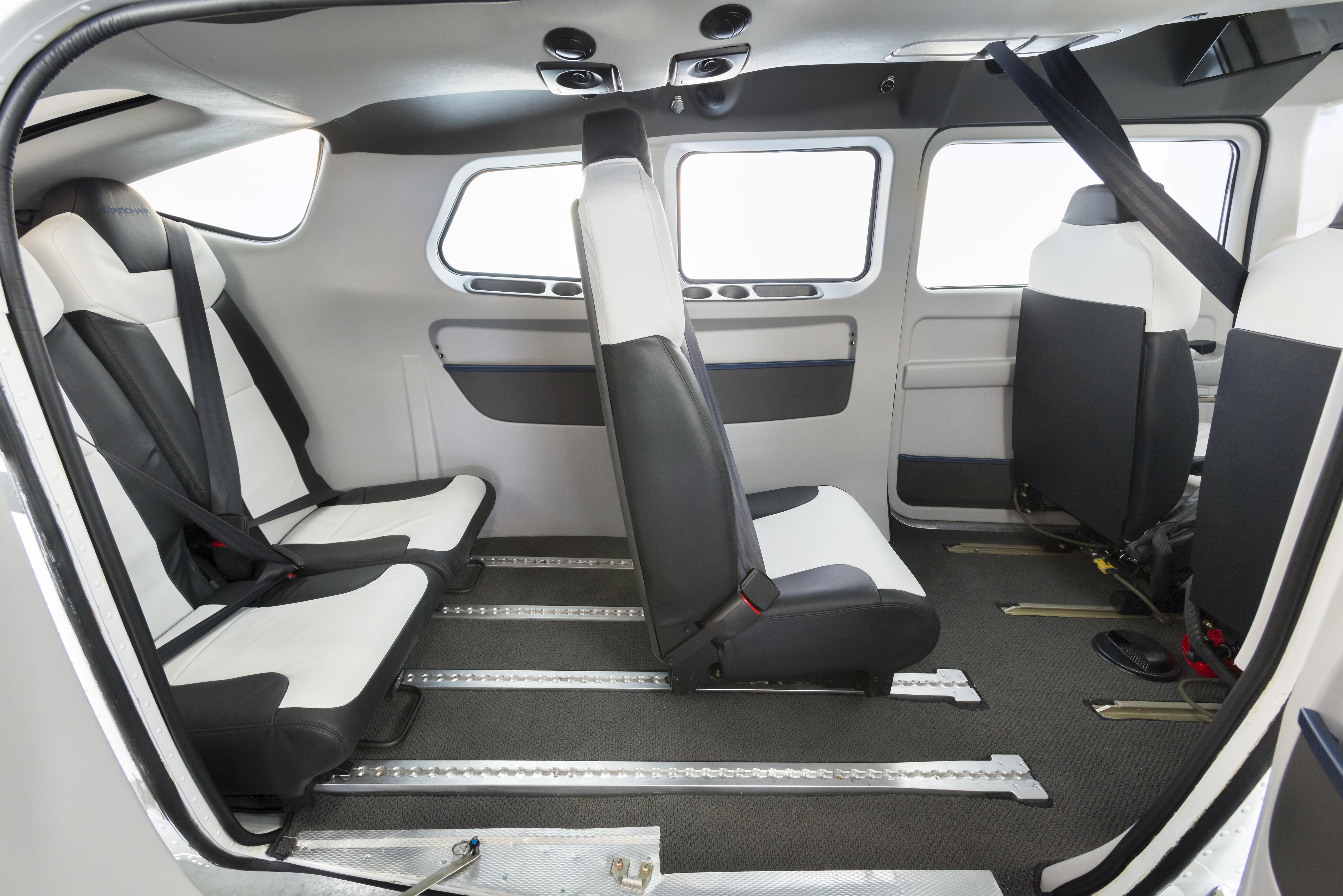 Textron Inc - Cessna Stationair to sport new interior seating option