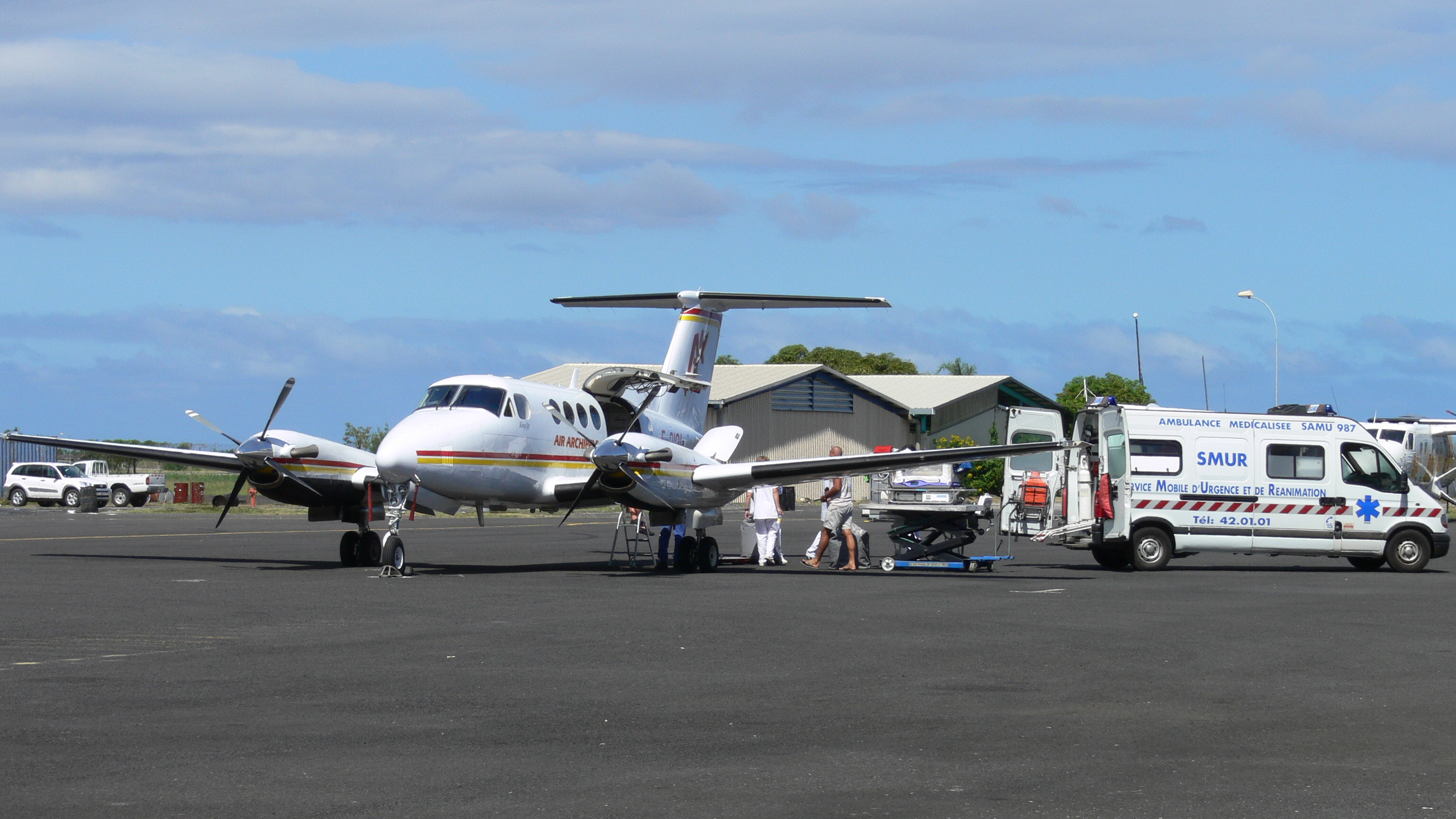 The Beechcraft King Air 260 and 260C will join a fleet of King Air B200s in Air Archipels service