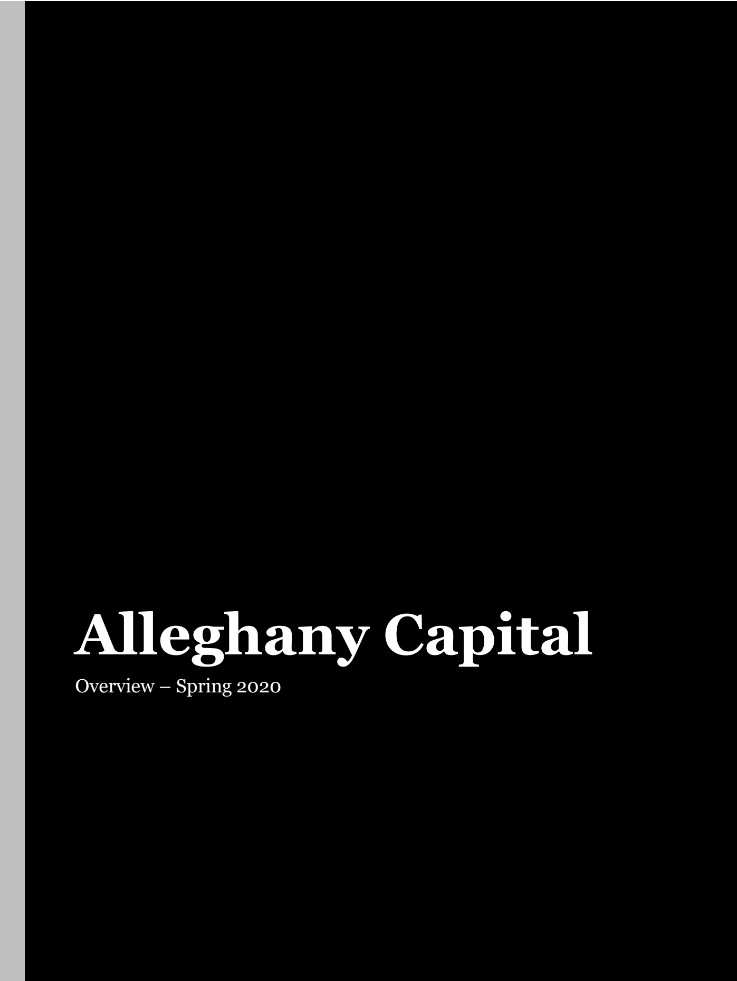 Alleghany Capital Overview