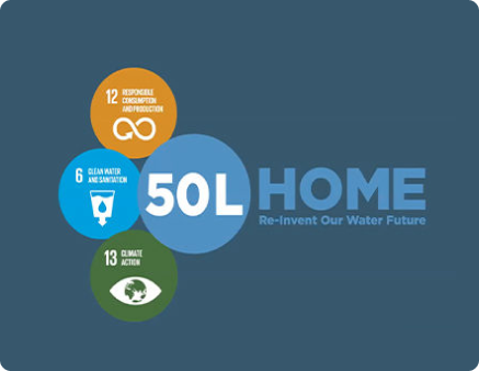 50L Home Reinvent our Water future